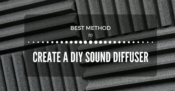 diy sound diffuser