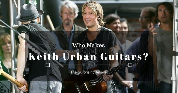 who makes keith urban guitars
