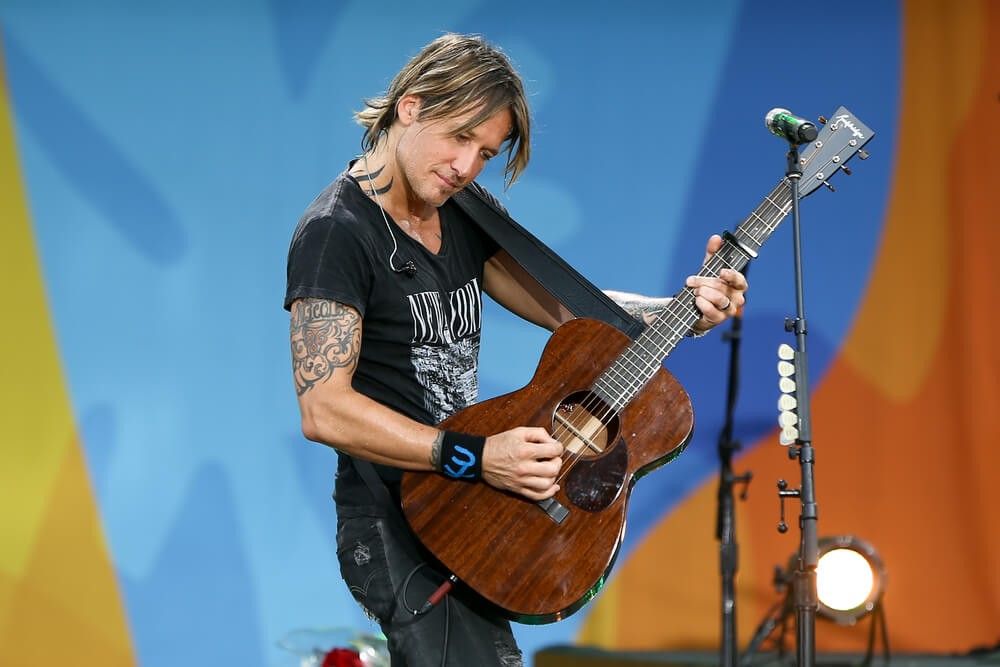 Who Makes Keith Urban Guitars The Surprising Answer Guitartrance