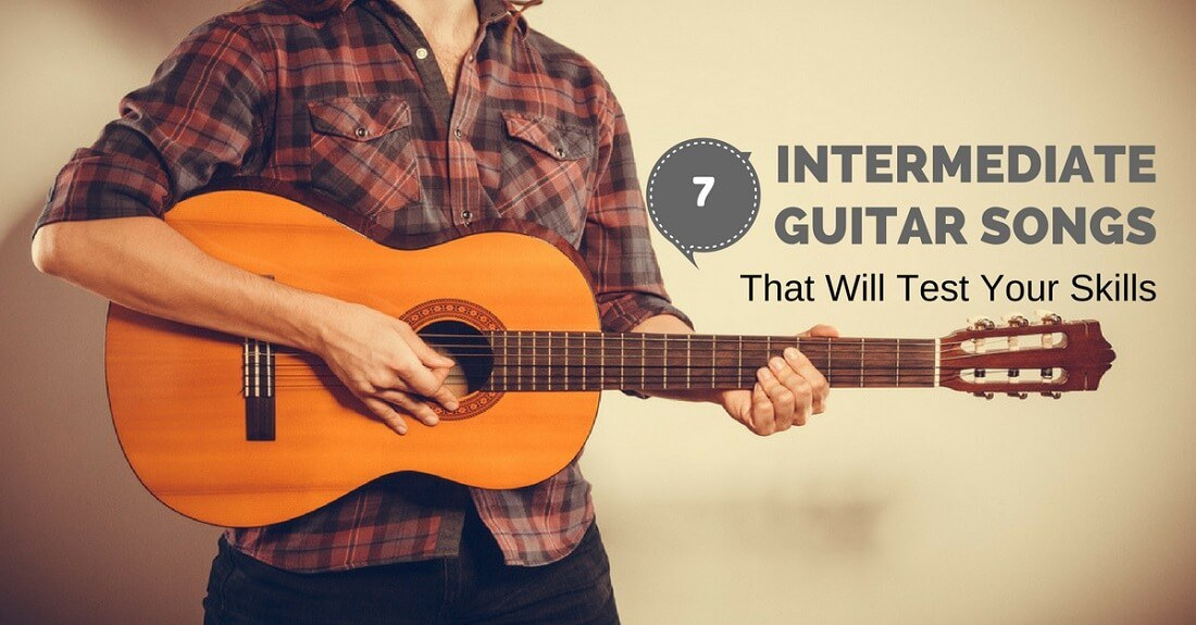 intermediate guitar songs
