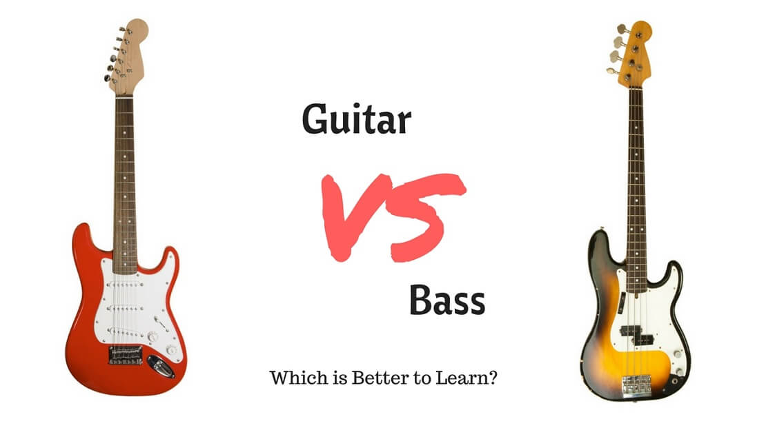guitar vs bass which is better to learn. Black Bedroom Furniture Sets. Home Design Ideas