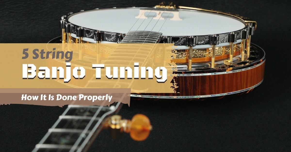 5 string banjo tuning