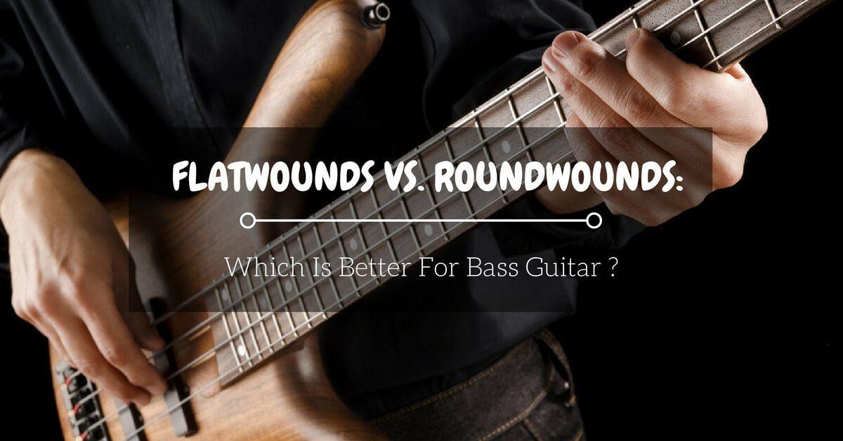 flatwound vs roundwound