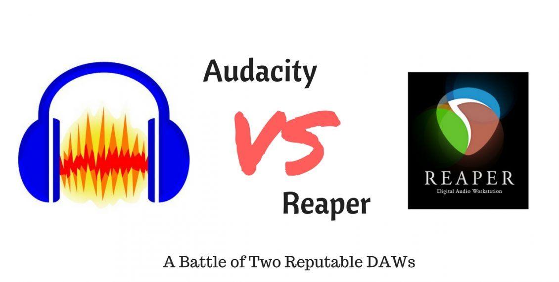 audacity vs reaper